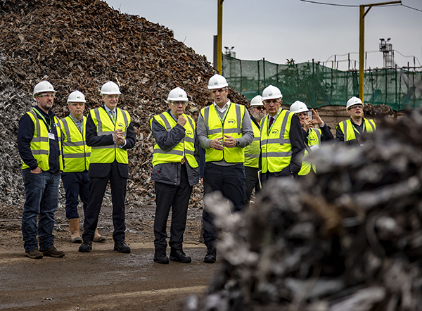 First metal recycling apprenticeship