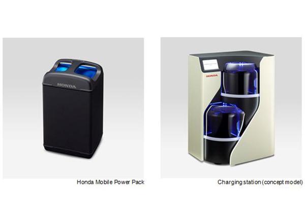 Honda charging station