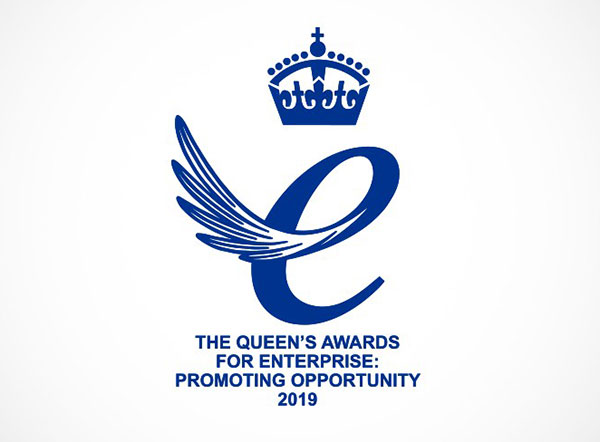 RecyclingLives wins Queen's Award 2019