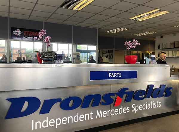 Dronsfields Mercedes Parts Specialists and Dismantlers