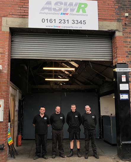 ASWR BMW Dismantlers and parts specialists