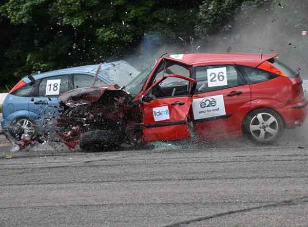Event Sponsor, e2e supplies ELVs at ITAI Crash Day