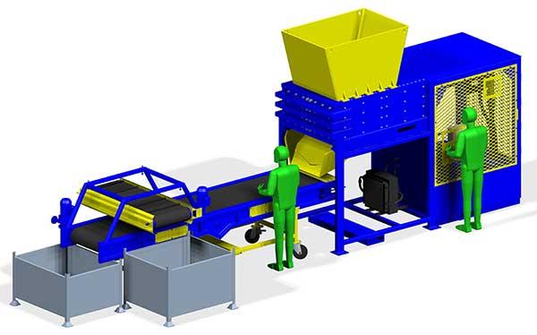 Engine Cracker Conveyor layout