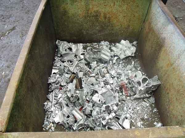 Recovered aluminium