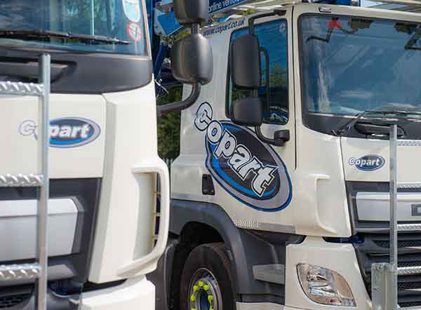 Copart invests in 79 new DAF & Volvo Multi-Car Transporters