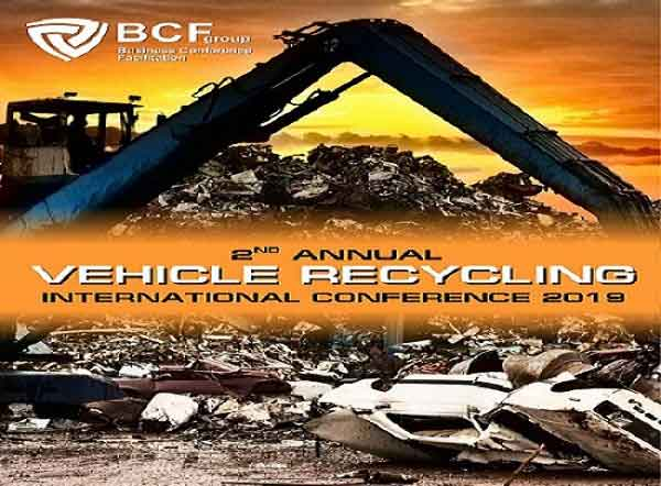 2nd annual vehicle recycling international conference 2019
