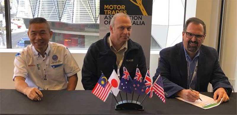 Global Automotive Recycling Associations sign historic Memorandum of Cooperation