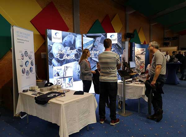 Hensel at the 13th Auto Recycling Conference in Hohenroda