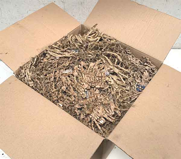 I Need Spares reuse cardboard for vehicle parts packaging