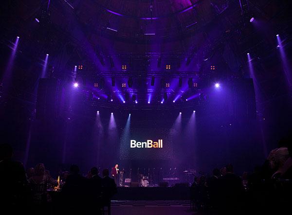 Ben Ball raises over £87,000