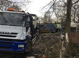 Landowner fined for running an unauthorised scrap metal operation