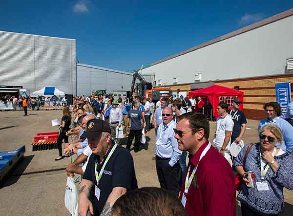 Registration launched for CARS 2020: Event Preview -Crowds gather to watch the live demonstrations at CARS 2018