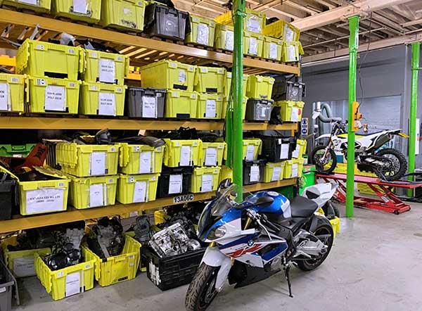 Cheshire Bike Breakers - Storage
