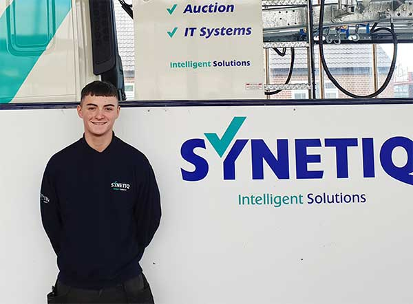 National Apprenticeship week - Synetiq's success stories - Connor Moore