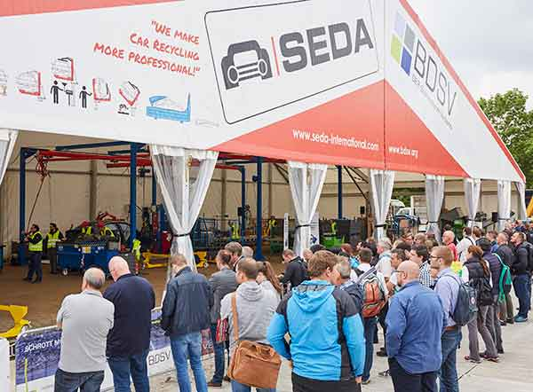 SEDA and BDSV at IFAT 2020 to demonstrate whole car-recycling process