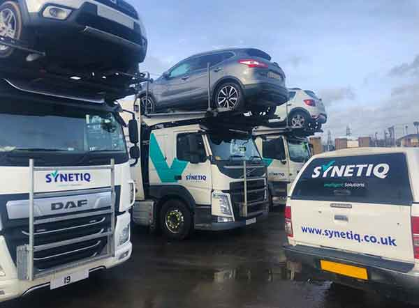 SYNETIQs Major Incident team recovers over 700 vehicles from South Wales motor traders