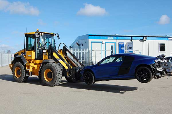 new investment of jcb vehicle loaders by copart