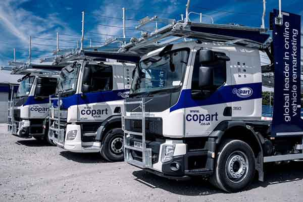 Lockdown: Keeping Our Doors Open at Copart trucks