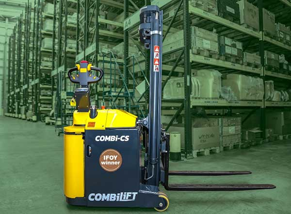 Combilift Combi-CS pedestrian stacker wins IFOY Award 2020 feat