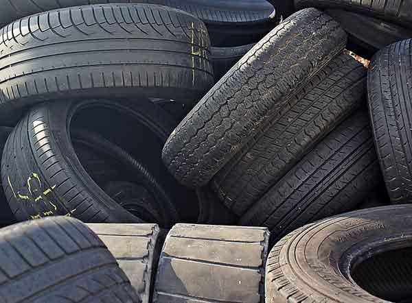 tyre dumping UK post
