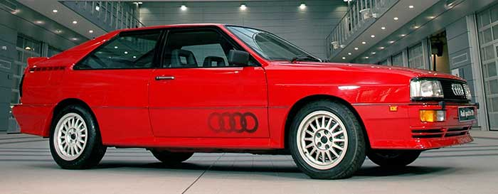 Scrappage damaged the classic car market audi V20 Quattro post