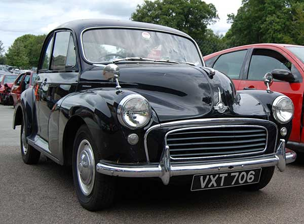 Scrappage damaged the classic car market morris minor feat