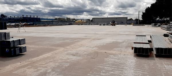 New 25000sqm Yard Facility at UK's Largest Salvage and Vehicle Recycling Company - SYNETIQ after