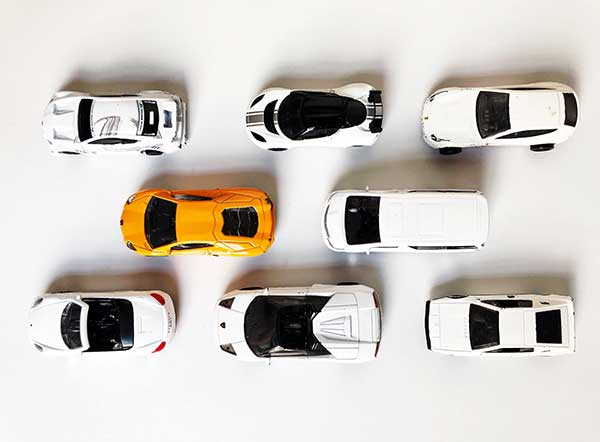White cars increases in popularity RAC feat