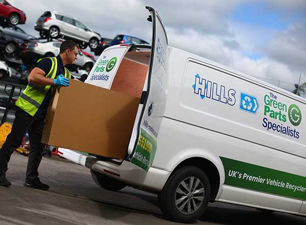 Hills Salvage & Recycling awarded acclaimed VRAC Certified Vehicle Recycler certification p five