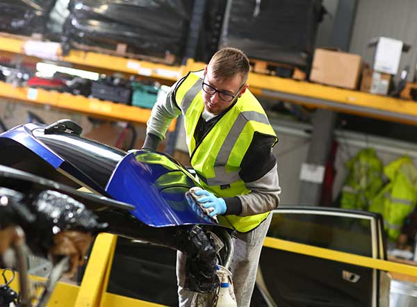 Hills Salvage & Recycling awarded acclaimed VRAC Certified Vehicle Recycler certification p four