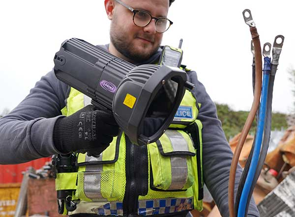Partners join forces for week of action to tackle metal and waste crime