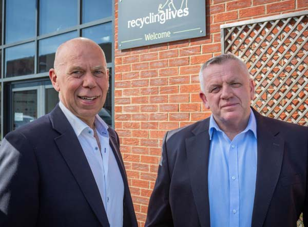 Recycling Lives has welcomed a new top team feat