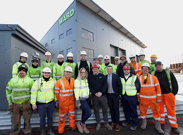 Ward crowned Metal Recycler of the Year at industry excellence awards f