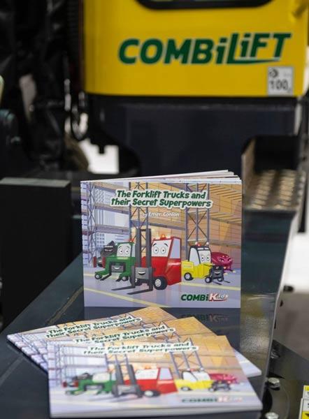 Award-Winning Company, Combilift & Award-Winning Author, Emer Conlon – A Great 'Combination p