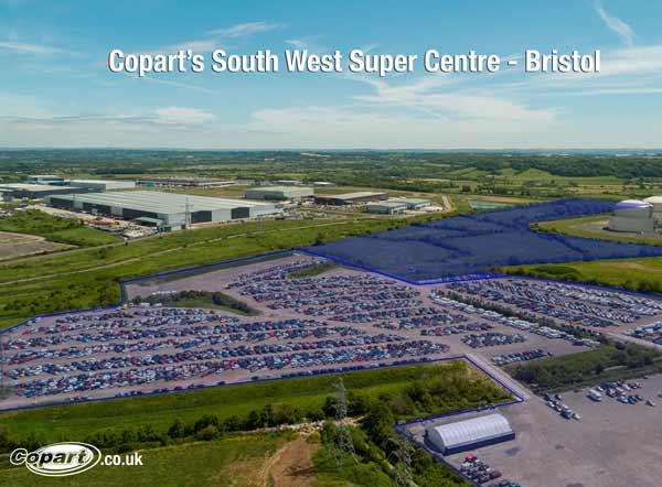 Copart Bristol Expansion Creates South West 'Super Centre' feat