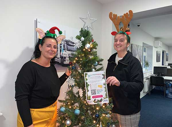 SYNETIQ brings Christmas cheer to well-deserving national charity p two