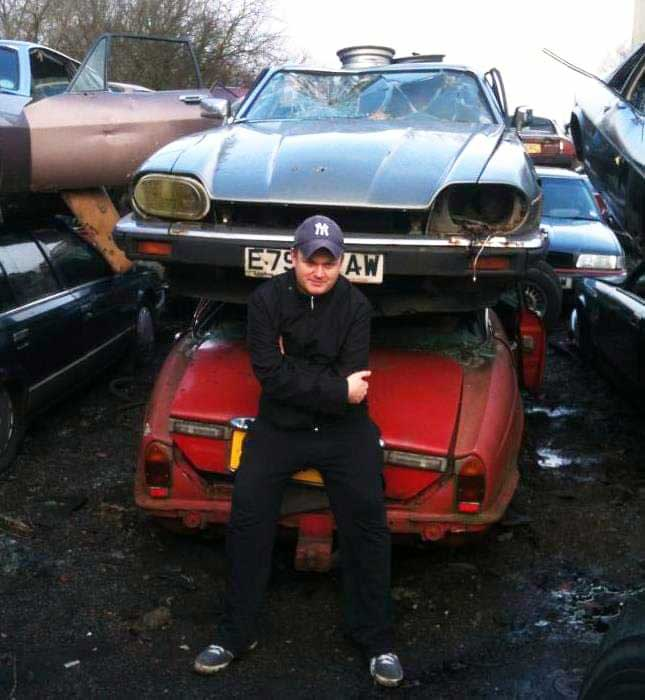 Scrapyard bygone years rob clarke p