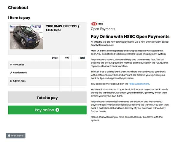 SYNETIQ introduces HSBC Open Payments p one