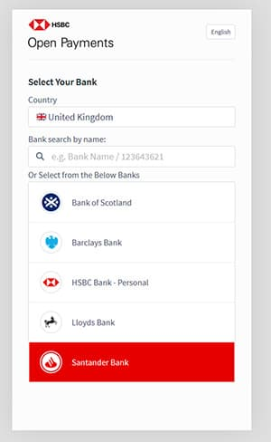 SYNETIQ introduces HSBC Open Payments p two