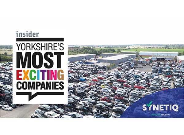 SYNETIQ makes Yorkshire Business Insider's 50 Most Exciting Companies list for 2021