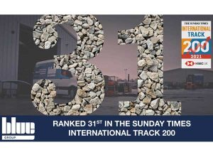 Blue Group Ranked 31st in The Sunday Times HSBC International Tracked 200 feat