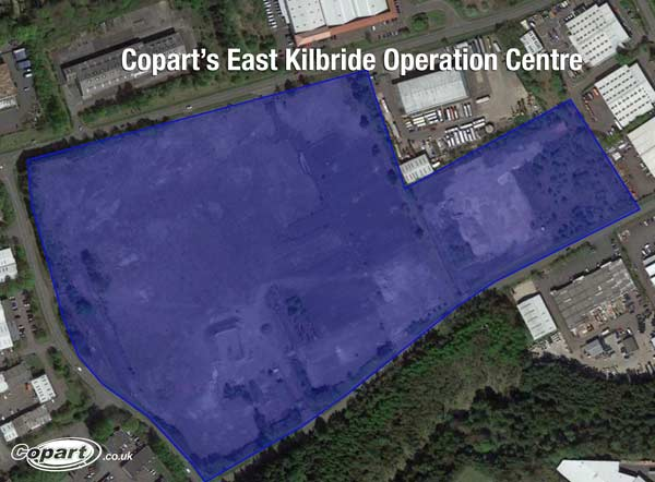 Copart to double operational capabilities in Scotland feat