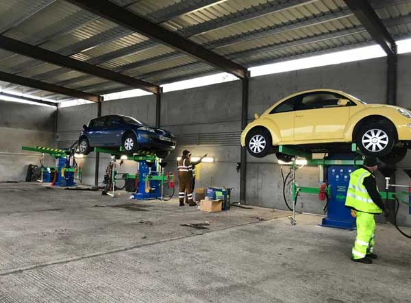 Green Car 'All in One' depollution systems installed at Recycling Lives feat