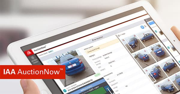IAA launches AuctionNow™ in the UK p