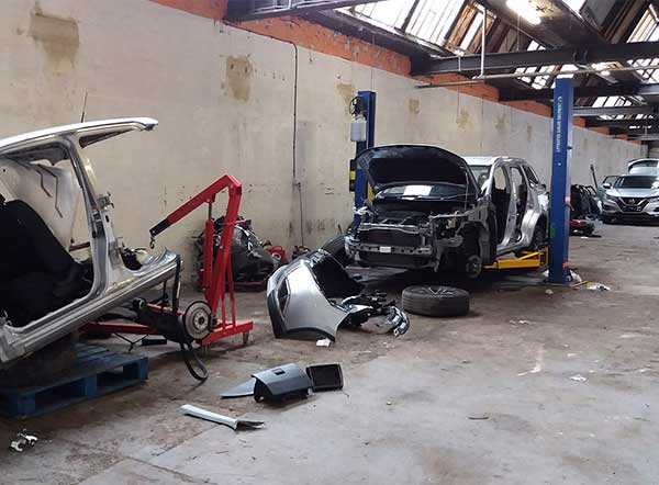 Man jailed after officers discover over £240k worth of stolen vehicles in chop shop img one