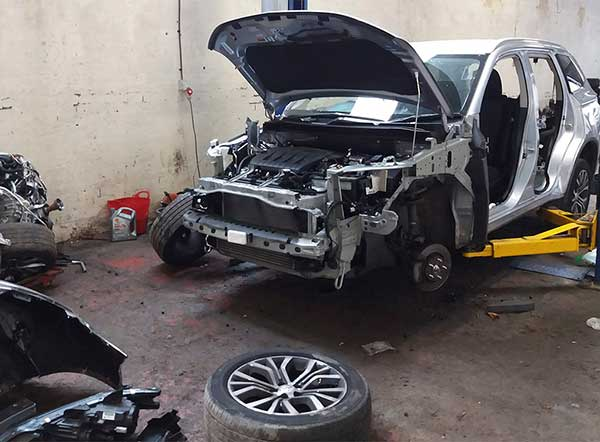 Man jailed after officers discover over £240k worth of stolen vehicles in chop shop img three