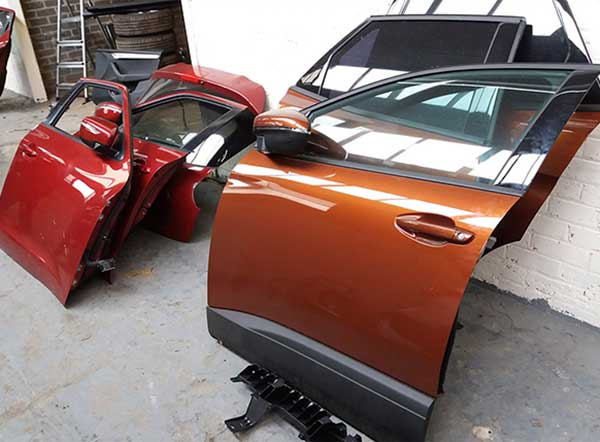 Man jailed after officers discover over £240k worth of stolen vehicles in chop shop img two