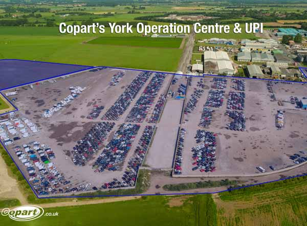 Copart Strengthens Services in North with York Expansion feat