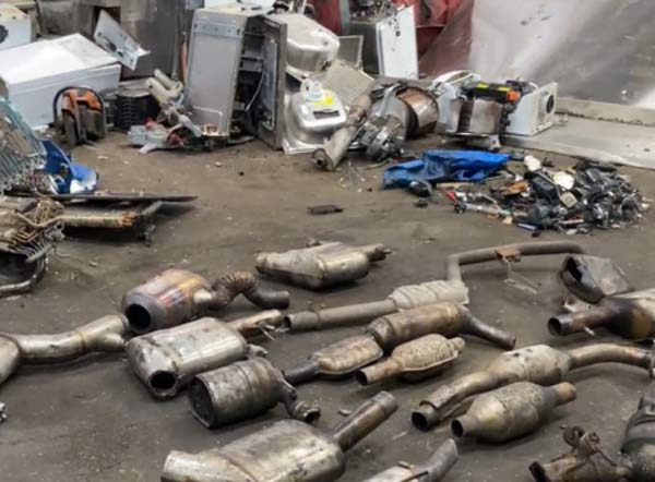 Police operation to stop thefts of catalytic converters feat