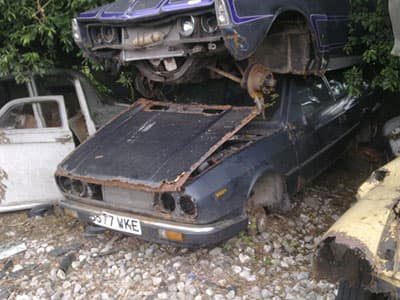 Scrapyard bygone years - everything changes p two